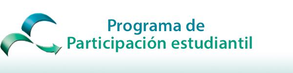 Logo programa de participación estudiantil